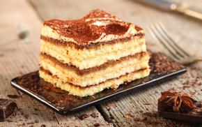шоколад, вкусно, крем, торт, бисквит, пряности