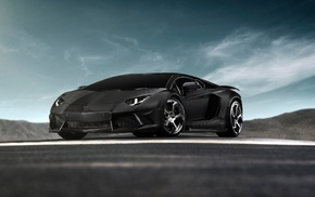 road, cars, Lamborghini, supercar, tuning