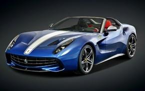 blue cars, pininfarina, Ferrari, car