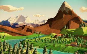 пейзаж, природа, фантастическое исскуство