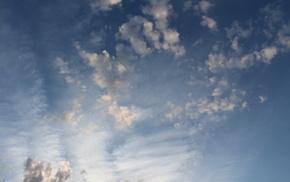 небо, природа, красиво, весеннее небо