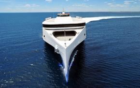 ocean, nature, ship, stunner