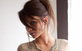 brunette, face, Cameron Intima