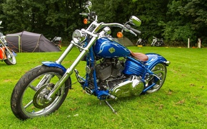 bike, blue, motorcycles