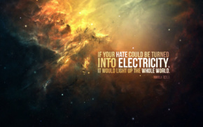 Nikola Tesla, electricity, quote