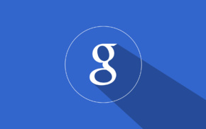 Google, Long shadow, material style