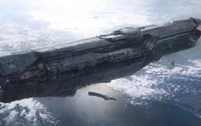 космический корабль, научная фантастика