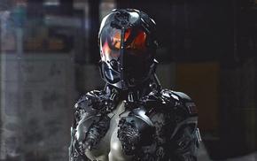 futuristic, girl, cyberpunk