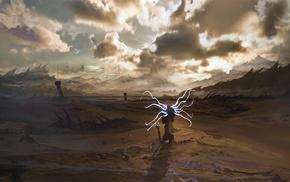 Diablo III, концептуальное искусство, апокалипсис, игры, фантастическое исскуство