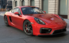 sportcar, supercar, red, Porsche, cars
