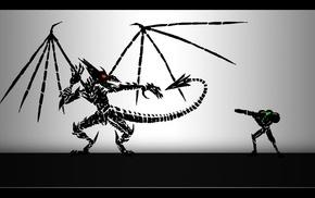 Samus Aran, Metroid, Ridley