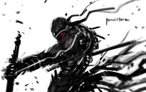 soldier, artwork, fantasy art, robot, warrior, concept art