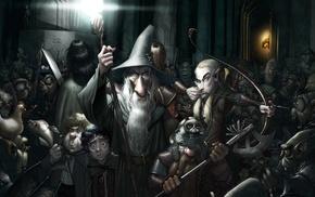 Gandalf, skrull, E.T., Dobby, minions, Gimli