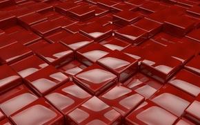 блеск, 3d, красота, объем, фон, 3Д. кубики