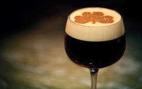 темное, вкусно, фужер, пиво, Guinness