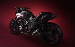 motorcycle, black, motorcycles