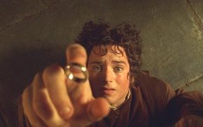 Frodo Baggins, The Lord of the Rings, Elijah Wood, The One Ring, The Lord of the Rings The Fellowship of the Ring