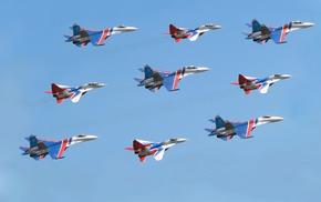 русские витязи, су 27, многоцелевой, авиация, стрижи