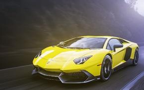 cars, supercar, sportcar, yellow, speed
