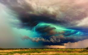 nature, cloudy, storm, rain