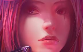 soft shading, Katarina, Noxus, League of Legends