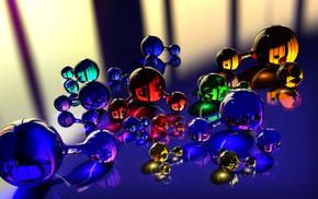 balloon, macro, photo, abstraction, reflection