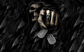skeleton, skull, fantasy