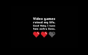simple background, black background, video games, pixelated