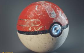 Pok Balls, simple background