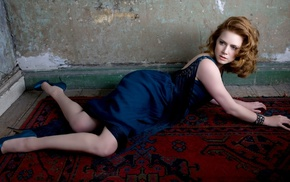 high heels, girl, legs, Amy Adams, celebrity, redhead