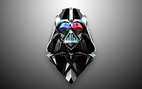 artwork, Star Wars, Justin Maller, Darth Vader, geometry, Star Wars The Old Republic