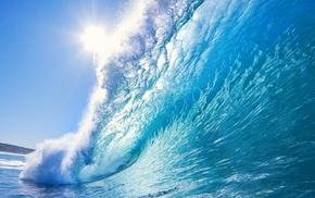 splash, water, stunner, ocean, beautiful