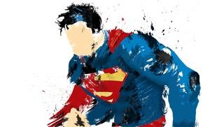 минимализм, герои, супермен