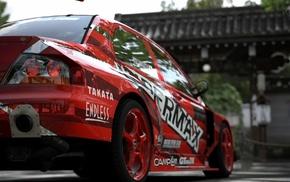 Mitsubishi, tuning, video games