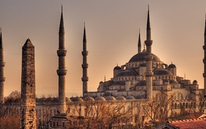 mosques, Istanbul, Turkey, architecture