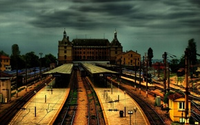 architecture, Turkey, train station, railway, Istanbul