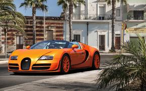 cars, orange