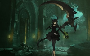 anime girls, anime, Dead Master, Black Rock Shooter
