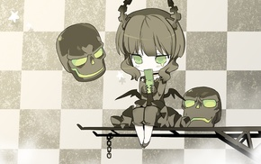 Black Rock Shooter, Dead Master, anime girls, anime