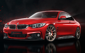 supercar, cars, tuning, BMW, red