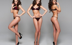 figure, linen, girls