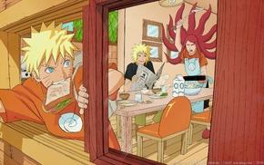 Hokage, Uzumaki Kushina, Naruto Shippuuden, anime, Namikaze Minato, Uzumaki Naruto