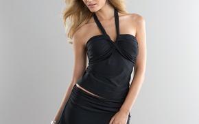 French, blonde, Nadge Dabrowski, model