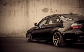 BMW, стена, тюнинг, макро, диски, суперкар