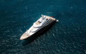 stunner, rest, yacht, ocean