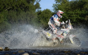 sports, motorcycle, water