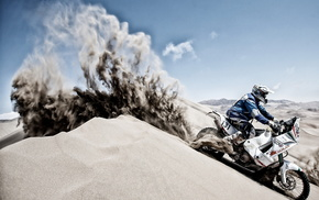 racing, sports, motorcycle, sand