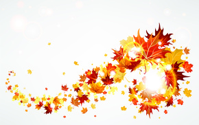 autumn, leaves, creative