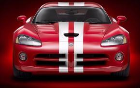 dodge, автомобили, красный, машина
