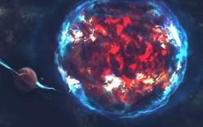 фантастическое исскуство, космос